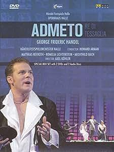 Händel, Georg Friedrich - Admeto (2 DVDs + 2 CDs / NTSC)