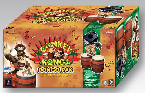 """GameCube - Konsole \""""Donkey Konga Bongo Pak\"""", black"""