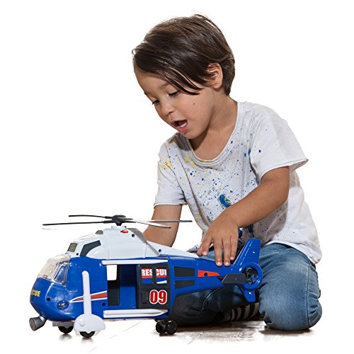 Dickie Toys 203308356 – Action Series Helicopter, Helikopter, 41 cm - 6