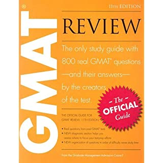 The Official Guide for GMAT Review