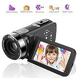 Videocamera Fotocamera digitale 1080P Zoom 18X Telecamera per videocamera per visione notturna con telecomando