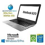 Notebook HP EliteBook 820 G1 Core i7-4600U 8Gb 256Gb SSD 12.5' HD AG LED Windows 10 Professional Licenza Simpaticotech MAR Microsoft Authorized Refurbisher (Ricondizionato)(SENZA Docking Station)