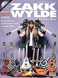 Zakk Wylde Guitar Legendary Licks (Book And Cd) Tab Book/Cd