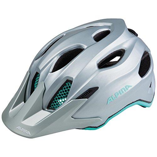 Alpina casco da bici per ragazzi sport Carapax Jr. Steelgrigio di smeraldo AP6