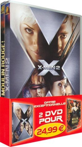X-Men 2 / Moulin Rouge - Bipack 2 DVD