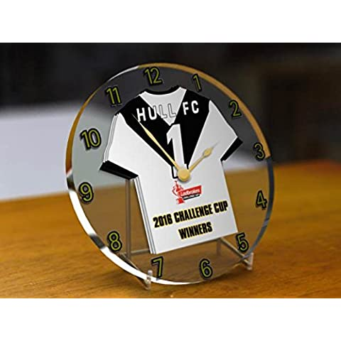Hull FC Rugby Liga club de fútbol–Ladbrokes Challenge Cup Winners 2016reloj de escritorio
