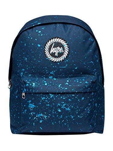 Hype Hombre Moteado Logo Mochila, Azul, One Size