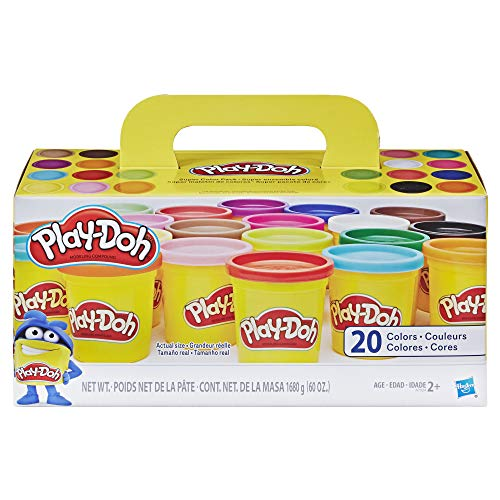 Play-Doh Super Color, 20-Pack, 60 oz by Play-Doh