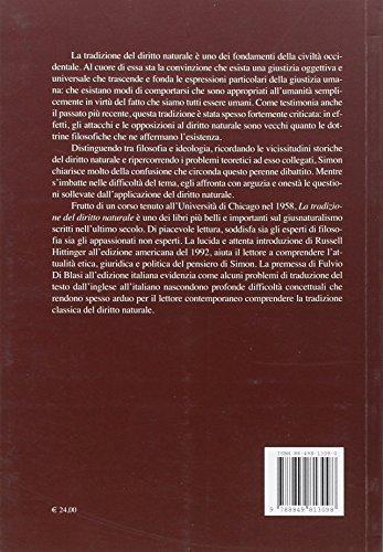 Zoom IMG-1 la tradizione del diritto naturale