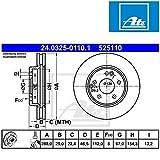 ATE 24032501101 Bremsscheibe Power Disc - (Paar)