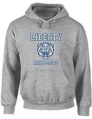 Brand88 - Liberty Athletics, Adult's Gedruckt Hoody - Pullover