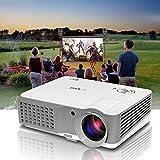 Beamer HDMI 2500 Lumen Projektor Unterstützt 1080p 720p LCD LED Heimkino Beamer TV Filme Videpspiel