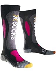 X-Socks Ski carving silver lady - Prenda, color negro, violeta, talla 37-38