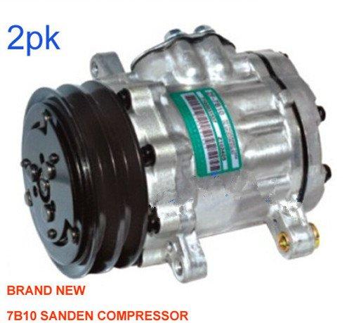 Gowe AC Kompressor für Sanden AC Kompressor für 7B10AC Kompressor mit Kupplung - Kompressor Kupplung Ac Mit