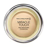 Max Factor Miracle Touch Foundation 75 Golden, 1er Pack (1 x 12 ml)