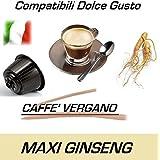 "Cápsulas compatibles con Nescafè Dolce Gusto®, Cápsulas Mixto (""Ginseng"", ""Irish Cappuccino"" y ""Cappuccino alla Nocciola"") Caffè Vergano (24 Cápsulas)"