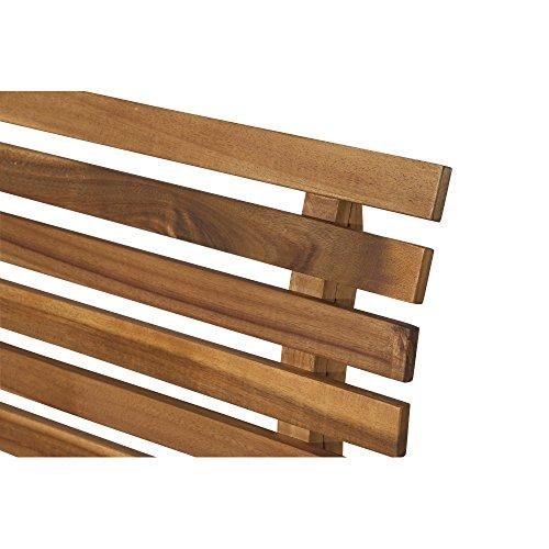 Siena Garden 2er Bank Santana, 67,5x140x92,5cm, Akazienholz, geölt in natur, FSC 100% - 7