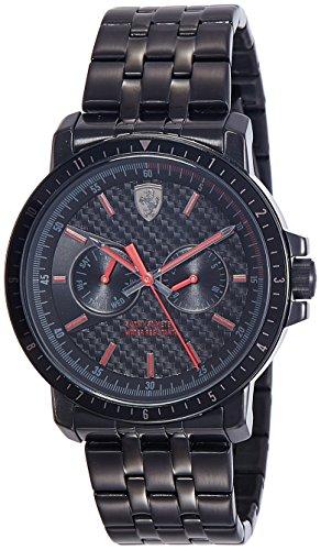 orologio multifunzione uomo Scuderia Ferrari Turbo casual cod. FER0830454