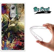 Becool® Fun - Funda Gel Flexible para Doogee F5, Carcasa TPU fabricada con la mejor Silicona, protege y se adapta a la perfección a tu Smartphone y con nuestro exclusivo diseño. Grietas y pintura