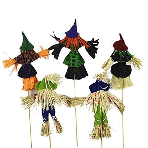 Vovotrade Ornements Halloween Citrouille Sorcière Rocker Robe Scène Halloween up des Accessoires Jouets pour Enfants