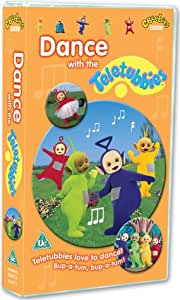 Teletubbies Dance With The Teletubbies Vhs Dave