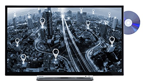 Toshiba 32D3763DA 81 cm (32 Zoll) Fernseher (HD ready, Triple Tuner, Smart TV, DVD Player) -