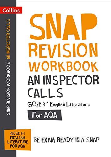 An Inspector Calls Workbook: New GCSE Grade 9-1 English Literature AQA: GCSE Grade 9-1 (Collins GCSE 9-1 Snap Revision)