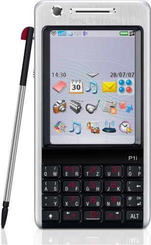 Sony Ericsson P1i silver-black Handy (Sony P1i)