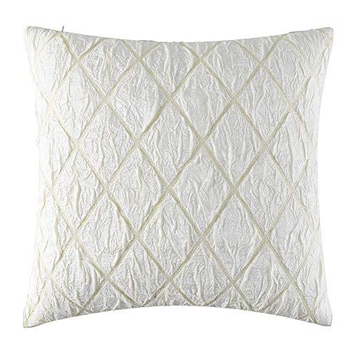 Fodera per cuscino cuscino per divano lattice in jacquard di seta oro e diamanti (colore : a, dimensioni : 45 * 45cm)