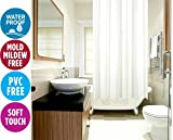 Klass Home Collection® Duschvorhang aus 100% Polyester (180 x 220cm).