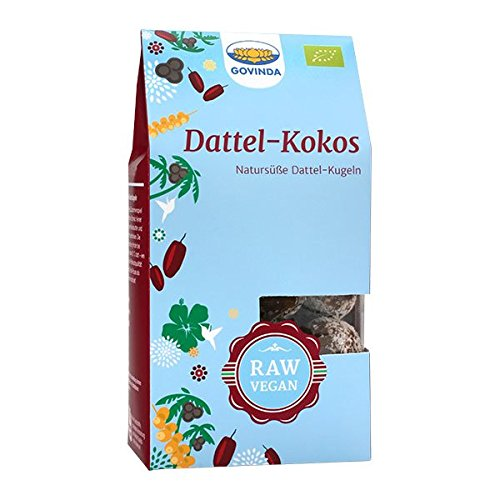 Govinda Dattel-Kokos Kugeln, 120 g