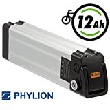 Phylion Battery XH 370–10J E-Bike Pedelec 37V 12AH for E MiFa, Rex, Prophete
