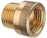 Cornat Hahnverlängerung mit Innen und Außengewinde, A 3/4Zoll IG, B 12,5 mm, 1 Stück, rotguss, T640500