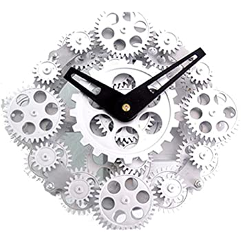 Unusual Cogs Moving Gear Wall Stand Clock Gcl06 278