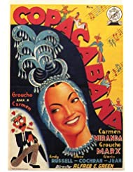 Copacabana Poster (27 x 40 Inches - 69cm x 102cm) (1947) Style B