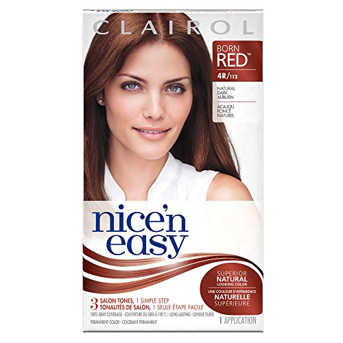 Clairol Coloration de longue durée Nice 'n Easy - Couleur 112 - Auburn foncé naturel