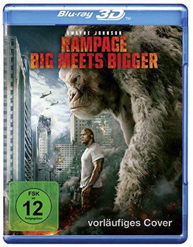Rampage: Big Meets Bigger 3D [3D Blu-ray]