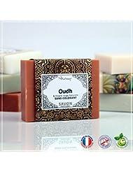 OUDH - BOIS D'AGAR - Savon Oud et Argile Rouge -100g - Fabrication Française