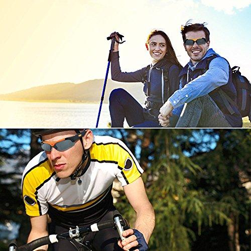 WISEUP Sport-Sonnenbrille mit Videokamera - 7