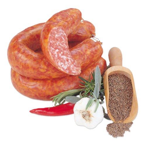 Thüringer Knackwurst mit Knoblauch - Landmetzgerei Schiessl - ca. 500g