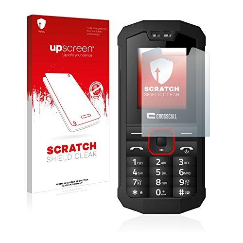 upscreen Schutzfolie kompatibel mit Crosscall Spider X1 - Kristallklar, Kratzschutz, Anti-Fingerprint