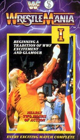 Preisvergleich Produktbild WWF - Wrestlemania 1 [UK-Import] [VHS]