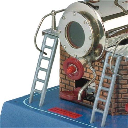 Wilesco 20 - Dampfmaschine D20 500 ml Kesselinhalt, inkl. Sicherheits-Ventil, Manometer und Dom-Pfeife.