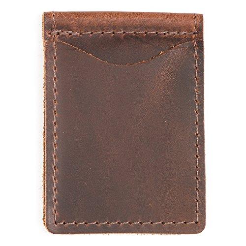 Light Brown Money Clip Standard -