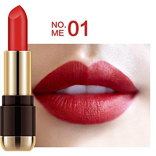 6 Colores Profesional Pintalabios Mate Labial de Maquillaje Larga Duracion para Niñas por ESAILQ A