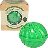 Waschmaschinenball von Qualtex, reinigt die Wäsche und macht sie weicher, ökologische, für 1000 Wäschen