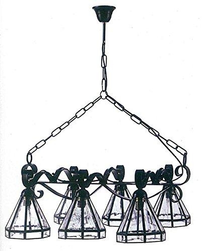 Lamparas de Cristal artesanal : Modelo 802 de 70x50cms.