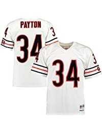 Walter Payton Chicago Bears NFL Mitchell & Ness Throwback Premier White Jersey Maillot