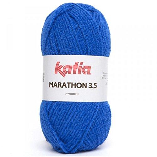Laine Marathon 3.5, Katia 35 Bleu Roi