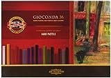 KOH-I-NOOR GIOCONDA 8115 Harte Künstler-Pastellkreiden (36 Stück)